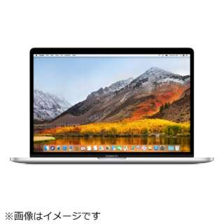 MacBookPro 15インチ Touch Bar搭載 USキーボード カスタマイズモデル[2018年/SSD 512GB/メモリ 16GB/2.6GHz6コア Core i7]シルバー MR972JA/A
