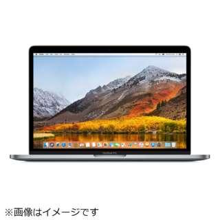 MacBookPro 13インチ Touch Bar搭載 USキーボード カスタマイズモデル[2018年/SSD 256GB/メモリ 8GB/2.3GHzクアッドコア Core i5]スペースグレイ MR9Q2JA/A