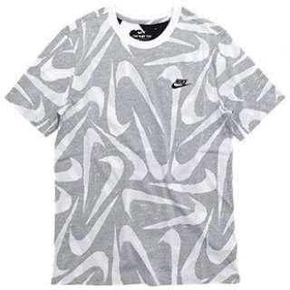 メンズ ナイキ ハンド ドローン AOP S/S Tシャツ(Mサイズ/ブラック) CK2376