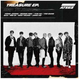 ATEEZ/ TREASURE EP. Map To Answer Type-A 【CD】