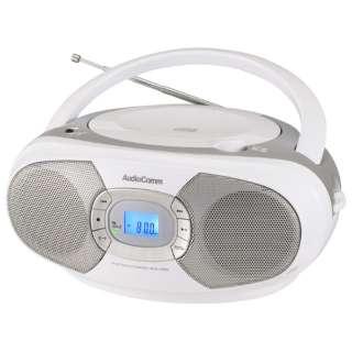CDラジオ RCR-220N-S シルバー [ワイドFM対応]