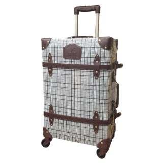 スーツケース トランクキャリー 36L チェックグレー SNOOPY スヌーピー HAP3102-53-PN57