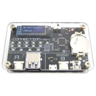 USBケーブルの性能を確認できる検証デバイス USB CABLE CHECKER 2 ADUSBCIM