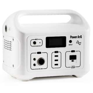 SmartTapポータブル電源 PowerArQ ホワイト