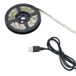 切って貼る USBテープLED 電球色 2m BIGLED-TP200WA