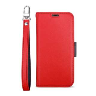 Corallo コラーロ NU 手帳型ケース for iPhone11 Pro (Red+Black) CR_IKSCSPLNU_RD レッド×ブラック