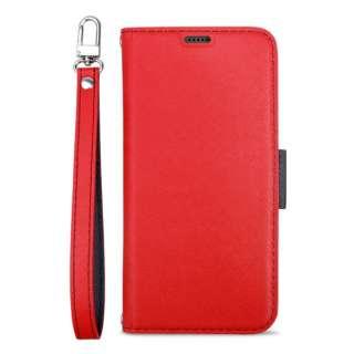 Corallo コラーロ NU 手帳型ケース for iPhone11 Pro Max (Red+Black) CR_IKLCSPLNU_RD レッド×ブラック