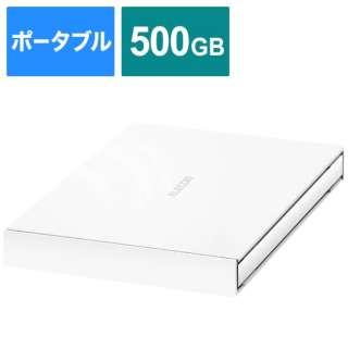 ESD-EJ0500GWH 外付けSSD ホワイト [ポータブル型 /500GB]