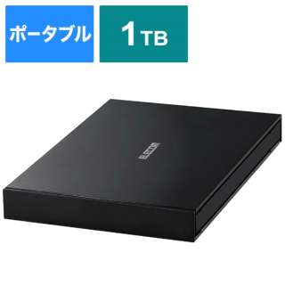 ESD-EJ1000GBK 外付けSSD ブラック [ポータブル型 /1TB]