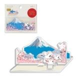 スタンドNMW鶴と桜と富士 ETM-772-635