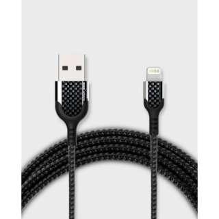 USB-C ⇔ Lightning 充電ケーブル [1m /USB PD対応 /MFi認証] KC001BK ブラック