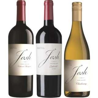 全米No.1 赤ワイン『ジョッシュ・セラーズ』飲み比べセット 750ml 3本【ワインセット】