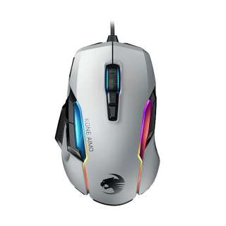 ROC-11-820-WE ゲーミングマウス KONE AIMO Remastered ホワイト [光学式 /12ボタン /USB /有線]