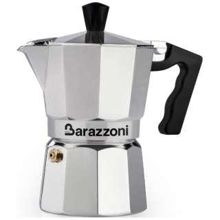 直火用 エスプレッソコーヒーメーカー 3カップ LA CAFFETTIERA ALLUMINIO E COLORATA 830005503