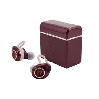 フルワイヤレスイヤホン ダークルージュ TE-D01d mk2DR [リモコン・マイク対応 /ワイヤレス(左右分離) /Bluetooth]