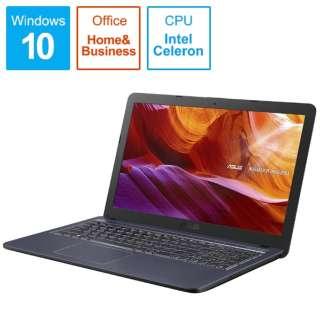 R543MA-GQ793TS ノートパソコン ASUS R543MA スターグレー [15.6型 /intel Celeron /SSD:256GB /メモリ:4GB /2019年12月モデル]