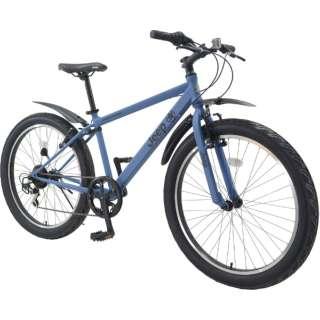 26型 マウンテンバイク JE-266FT(ブルー/外装6段変速) JE-266FT【2020年モデル】 【組立商品につき返品不可】