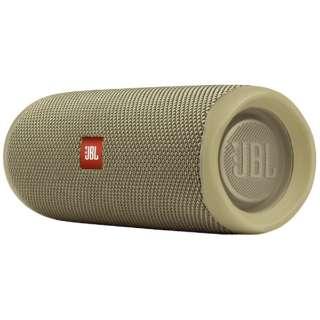 ブルートゥース スピーカー JBLFLIP5SAND サンド [Bluetooth対応 /防水]
