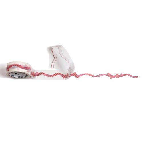 転写マスキングテープ リボン Pink BDA513