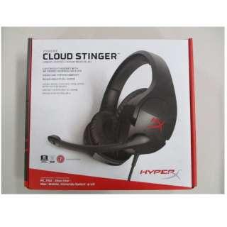 HX-HSCS-BK/AS-BIC ゲーミングヘッドセット+タオル HyperX Cloud Stinger set [φ3.5mmミニプラグ /両耳 /ヘッドバンドタイプ]