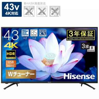 43F68E 液晶テレビ [43V型 /4K対応]