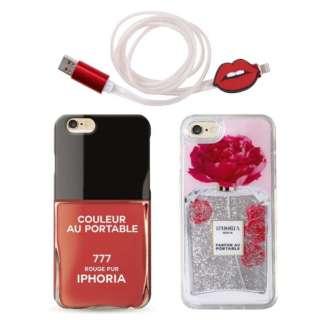 IPHORIA(アイフォリア)iPhone 8/7 + ライトニングケーブルセット