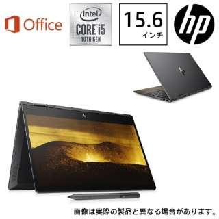 8VB39PA-AAAA ノートパソコン ENVY x360 15-dr1014TU-OHB ナイトフォールブラック & ナチュラルウォールナット [15.6型 /intel Core i5 /SSD:512GB /メモリ:8GB /2019年12月モデル]