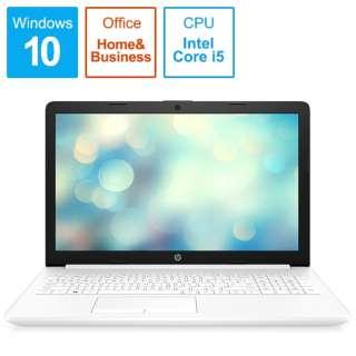 9AU46PA-AAAB ノートパソコン 15-da2023TU-OHB ピュアホワイト [15.6型 /intel Core i5 /HDD:1TB /Optane:16GB /メモリ:8GB /2019年12月モデル]