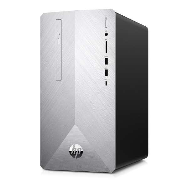 6DW32AA-AASO デスクトップパソコン Pavilion Desktop 595-p0105jp ブラッシュドシルバー [モニター無し /HDD:2TB /SSD:256GB /メモリ:16GB /2019年12月モデル]