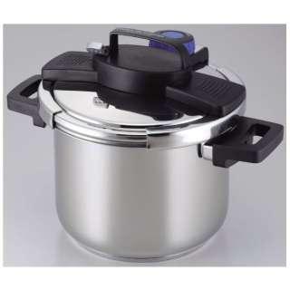 3層底1タッチレバー圧力鍋 5.5L H-5389