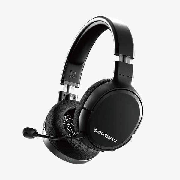 61512-ARCTIS1-WIRELESS ゲーミングヘッドセット Arctis 1 Wireless [ワイヤレス(USB)+有線 /両耳 /ヘッドバンドタイプ]