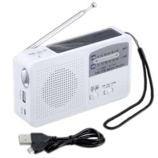 防災ラジオ SAVE SV-5745 [AM/FM /ワイドFM対応]