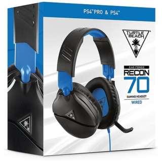 RECON 70P マルチプラットフォーム対応ヘッドセット ブラック TBS-3555-01 【PS4/Switch/Xbox One】