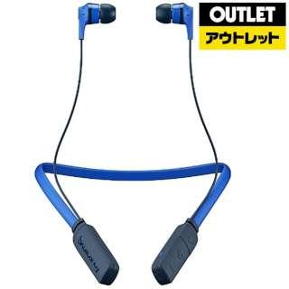 【アウトレット品】 bluetoothイヤホン [リモコン・マイク対応 /ワイヤレス(ネックバンド) /Bluetooth] INKDWIRELESSROYALBLUE ロイヤルブルー 【生産完了品】