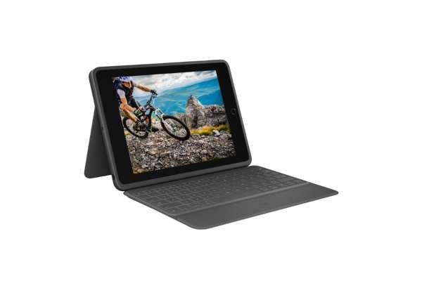 ロジクール「iPad(第7世代)用 キーボードケース RUGGED FOLIO」iK1054BKA
