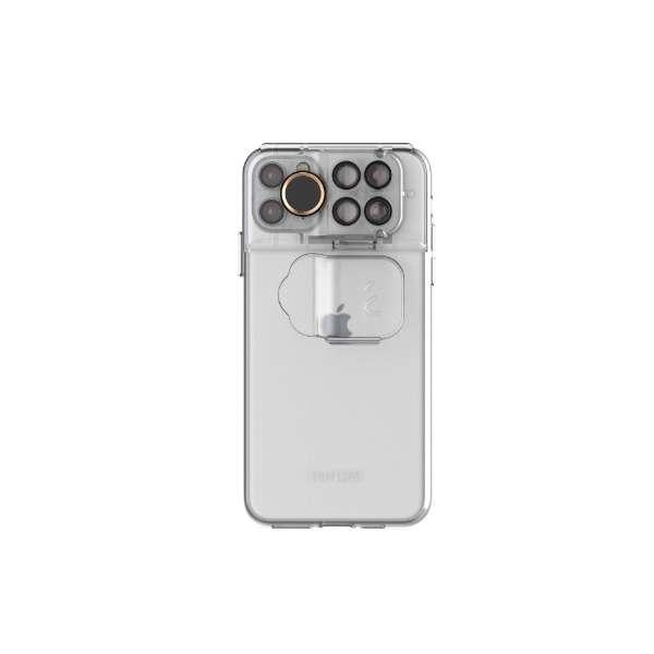 ShiftCam 2.0 トラベルセット iPhone 11 Pro Max用 SC20TSFFTXISM クリア SC20TSFFTXISM