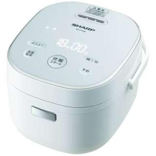 KS-CF05B-W 炊飯器 ホワイト系 [3合 /マイコン]