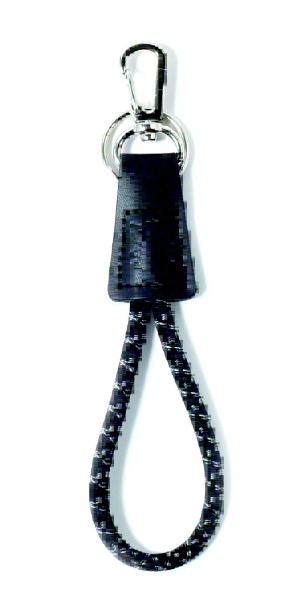 サンハーティネス香産 EB-05-3静電気抑止キーホルダー ブラック静電気対策