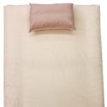 【すっぽりシーツ】TC無地 シングルサイズ(100×200×30cm/敷ふとん・ベッド兼用/ピンク)