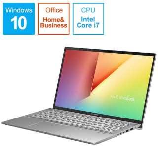 S531FA-BQ228TS Office搭載ノートパソコン VivoBook S15 トランスペアレントシルバー [15.6型 /intel Core i7 /HDD:1TB /SSD:512GB /メモリ:16GB /2019年12月モデル]