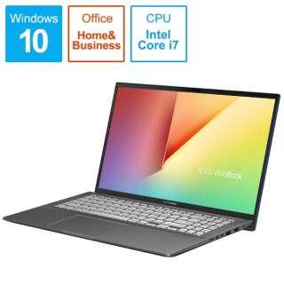 S531FA-BQ229TS Office搭載ノートパソコン VivoBook S15 ガンメタル [15.6型 /intel Core i7 /HDD:1TB /SSD:512GB /メモリ:16GB /2019年12月モデル]