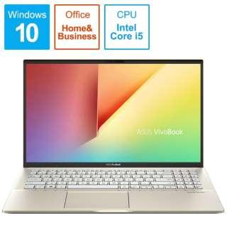 S531FA-BQ257TS ノートパソコン VivoBook S15 モスグリーン [15.6型 /intel Core i5 /HDD:1TB /SSD:512GB /メモリ:8GB /2019年12月モデル]
