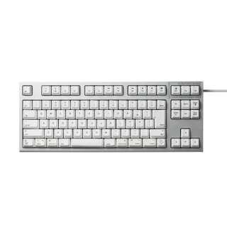 R2TL-JPVM-WH キーボード REALFORCE TKL for Mac シルバー / ホワイト [USB /有線]