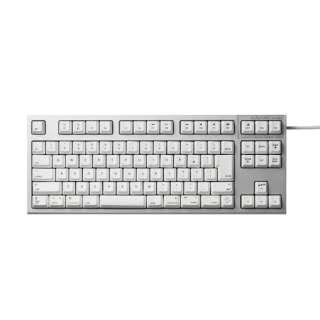 R2TLSA-JP3M-WH キーボード REALFORCE TKL SA for Mac シルバー / ホワイト [USB /有線]