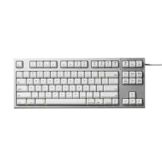 R2TL-USVM-WH キーボード REALFORCE TKL for Mac シルバー / ホワイト [USB /有線]