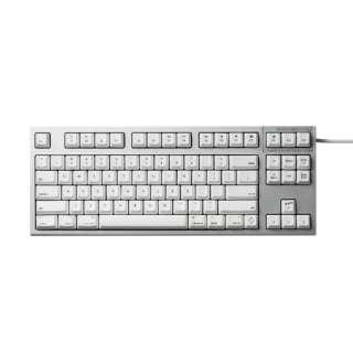 R2TLSA-US3M-WH キーボード REALFORCE TKL SA for Mac シルバー / ホワイト [USB /有線]