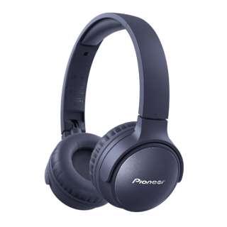ブルートゥースヘッドホン ブルー SE-S6BN(L) [リモコン・マイク対応 /Bluetooth /ノイズキャンセリング対応]