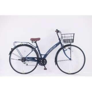 27型 自転車 ダカラットノエル(ミッドナイトブルー/外装6段変速)【2020年モデル】 【組立商品につき返品不可】