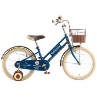18型 子供用自転車 ドングリ18(Rブルー/シングルシフト) CDK18【2020年モデル】 【組立商品につき返品不可】