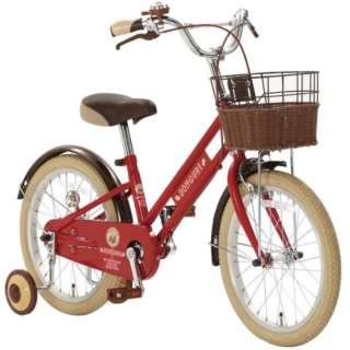18型 子供用自転車 ドングリ18(Sレッド/シングルシフト) CDK18【2020年モデル】 【組立商品につき返品不可】